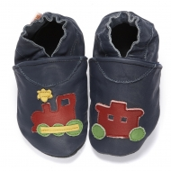didoodam Soft Leather Baby Shoes - Night Train - Size 0.5 - 2.5 (16-18)