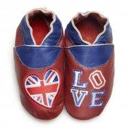 Kinderslofjes didoodam - Love London - Maat 25-26