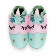 didoodam Soft Leather Baby Shoes - Flower Power - Size 3-4 (19-20)