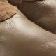 didoodam leren sloffen - Ochtendchocola - Maat 40-41