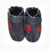 didoodam Soft Leather Baby Shoes - Love Ball - Size 3-4 (19-20)