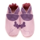 didoodam Soft Leather Baby Shoes - Chasing Butterflies - Size 3-4 (19-20)
