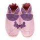 Chaussons bébé didoodam - Chasse aux papillons - Pointure 21-22