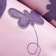 Slippers didoodam for kids - Chasing Butterflies - Size 10.5 - 12 (29-30)