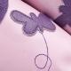 didoodam leren sloffen - Vlinders - Maat 38-39
