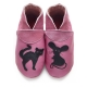 didoodam Soft Leather Baby Shoes - Kitty-n-Mouse - Size 0.5 - 2.5 (16-18)