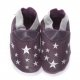 didoodam Soft Leather Baby Shoes - Ah the Night Sky - Size 0.5 - 2.5 (16-18)