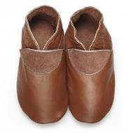 didoodam Soft Leather Baby Shoes - Coffee Break - Size 0.5 - 2.5 (16-18)