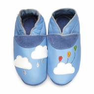 didoodam Soft Leather Baby Shoes - Party Cloud - Size 0.5 - 2.5 (16-18)