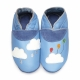 didoodam Soft Leather Baby Shoes - Party Cloud - Size 3-4 (19-20)