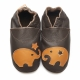 didoodam Soft Leather Baby Shoes - Star Blower - Size 3-4 (19-20)