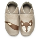 didoodam Soft Leather Baby Shoes - Fox Trot - Size 3-4 (19-20)