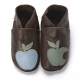 didoodam Soft Leather Baby Shoes - Cinnamon Apple - Size 3-4 (19-20)