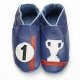 didoodam Soft Leather Baby Shoes - Like a Champion - Size 0.5 - 2.5 (16-18)
