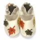 didoodam Soft Leather Baby Shoes - Autumn Leaves - Size 3-4 (19-20)
