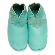 didoodam Soft Leather Baby Shoes - Peppermint - Size 0.5 - 2.5 (16-18)