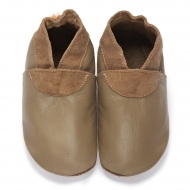 didoodam Soft Leather Baby Shoes - Morning Chocolate - Size 3-4 (19-20)