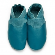 didoodam Soft Leather Baby Shoes - Green Duck - Size 0.5 - 2.5 (16-18)