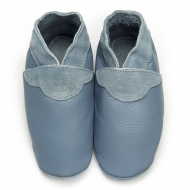 didoodam Soft Leather Baby Shoes - Stormy night - Size 0.5 - 2.5 (16-18)