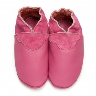 didoodam Soft Leather Baby Shoes - Rose Bonbon - Size 0.5 - 2.5 (16-18)