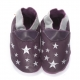 didoodam Soft Leather Baby Shoes - Ah the Night Sky - Size 3-4 (19-20)