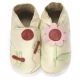 didoodam Soft Leather Baby Shoes - Flight of the Dragonflies - Size 3-4 (19-20)