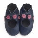 Slippers didoodam for kids - Cherry Blossoms - Size 12.5 - 13.5 (31-32)