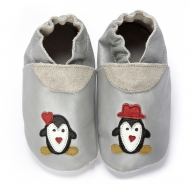didoodam Soft Leather Baby Shoes - Winter Wonderland - Size 3-4 (19-20)