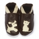 didoodam Soft Leather Baby Shoes - Like Cats and Dogs - Size 3-4 (19-20)