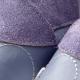 Chaussons enfant didoodam - Bleu de pois - Pointure 34-35