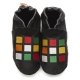 Slippers didoodam for kids - Squares - Size 1.5 - 2.5 (34-35)