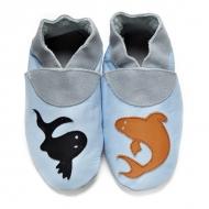 Kinderslofjes didoodam - Als vis in water - Maat 34-35