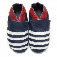 didoodam Soft Leather Baby Shoes - French Mariner - Size 0.5 - 2.5 (16-18)