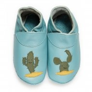 didoodam Soft Leather Baby Shoes - Cactus - Size 0.5 - 2.5 (16-18)