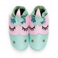 didoodam Soft Leather Baby Shoes - Flower Power - Size 0.5 - 2.5 (16-18)