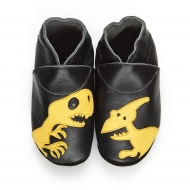 didoodam Soft Leather Baby Shoes - Dinotastic - Size 0.5 - 2.5 (16-18)