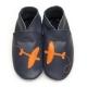 didoodam Soft Leather Baby Shoes - BlackBird - Size 3-4 (19-20)