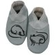 didoodam Soft Leather Baby Shoes - Ratatouille - Size 0.5 - 2.5 (16-18)