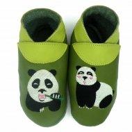 didoodam Soft Leather Baby Shoes - Pandaman - Size 0.5 - 2.5 (16-18)