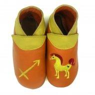 didoodam Soft Leather Baby Shoes - Sagittarius - Size 0.5 - 2.5 (16-18)